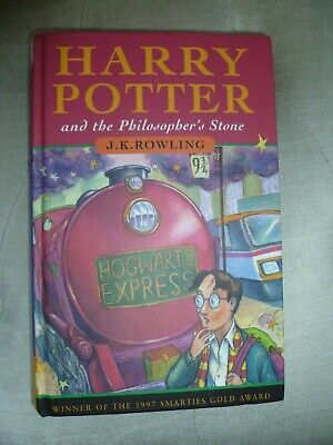 Harry Potter and the Philosopher's Stone 1st Edition 13th Print (Hardback 1997)