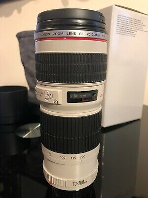 Canon ef 70-200 mm f/4L usm lens Only Used a Couple of times