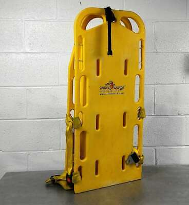 Iron Duck Yellow Spinal Immobilization Backboard With Straps
