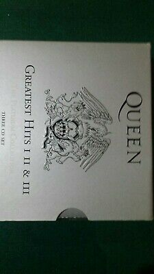 Queen Box 3Cd Europe Greatest Hits I, Ii & Iii 2011 The Platinum Collection