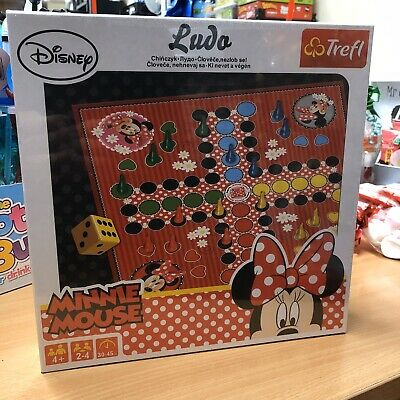 Disney Minnie Mouse Childrens family Ludo board game large BNIB bargain