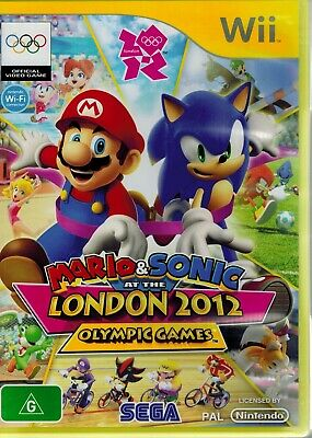 Mario & Sonic at the London 2012 Olympic Games for Nintendo Wii + Manual