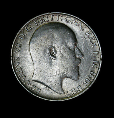 1910 Great Britain Florin (2 Shillings) KM# 801 Edward VII