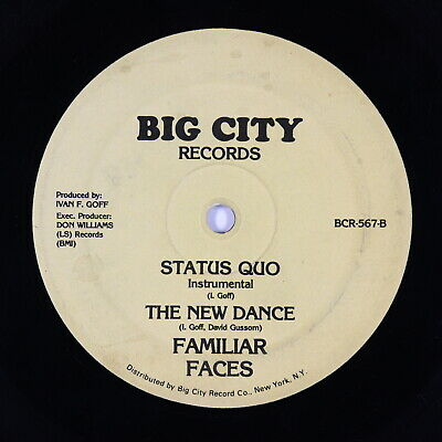 "Familiar Faces - Status Quo 12"" - Big City - Go-Go Funk MP3"