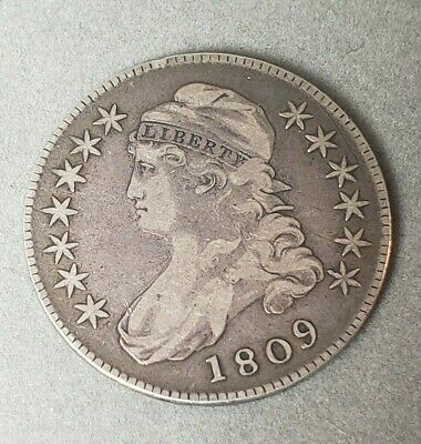 1809 Capped Bust Liberty Half Dollar
