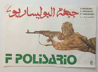 OSPAAAL CUBAN Political Poster ORIGINAL GIRON 1981 20th Anniversary BAY OF PIGS