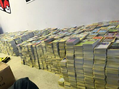 Collection of 300+ Pokemon TCG Cards Commons Uncommons Bulk Lot