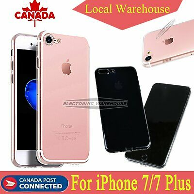 For iPhone Case 11/ X/7/ 7 Plus Bumper Shockproof Silicone Protective Cover TPU