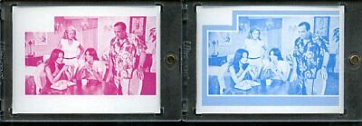 1977 Topps Charlies Angels Color Separation Proof Cards. #245