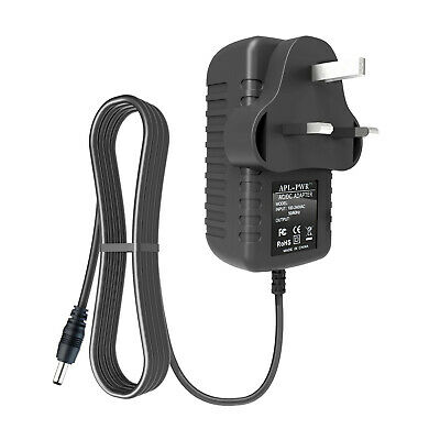 UK Plug AC-DC Power Adapter Charger for IOTA 2210 2IN1 Windows Tablet Keyboard