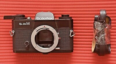 Rolleiflex SL35 M 35mm camera body for parts or repair