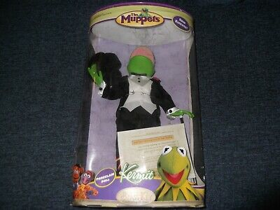 Muppets Kermit the Frog Porcelain Doll with Box