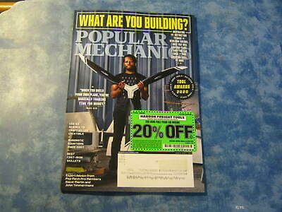 POPULAR MECHANICS MAGAZINE March/April 2020 WHAT ARE YOU BUILDING? Shed KNIFE