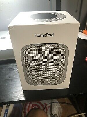 BOX ONLY!!! Apple HomePod Portable Smart Speaker Space Gray MQHW2LL/A BOX ONLY!!