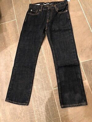 Gap Kids Little Boys Blue Denim 1969 Straight Fit Jeans Size 7 Regular NWT NEW