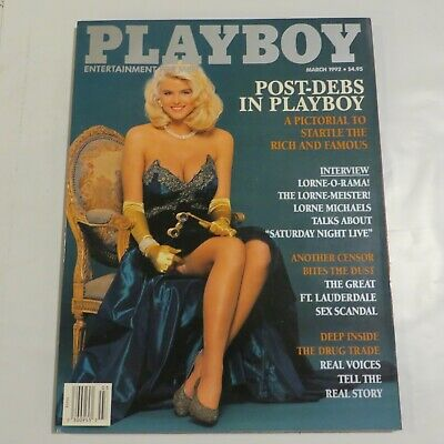 Playboy Magazine March 1992 Playmate of the month Tylyn John AA6