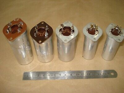 5 used Sprague electrolytic Capacitors 450V tested