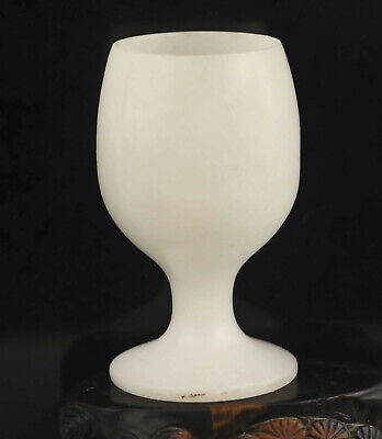 Chinese old natural jade hand-carved wine cup