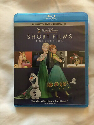 Disney Short Films Includes Frozen Fever, Tangled Ever After Etc Blu Ray & DVD
