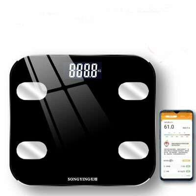 Digital Weighing Scales Electronic LCD Personal Glass Bathroom Body Weight 396LB