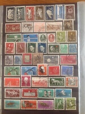 East Germany DDR 1956-61 Used Collection