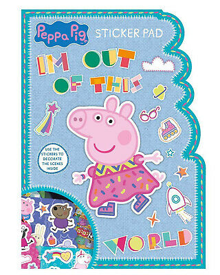 Peppa Pig Muddly Puddles Sticker Pad Activity Stickers Stocking Filler Kids