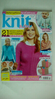 Knit Now Magazine Issue 85 Mag only no free kit