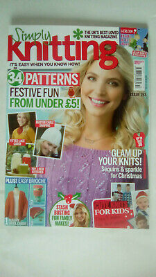 Simply Knitting Magazine Issue 153