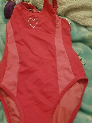 Lovely Girls Blue Zoo Swimming Costume Age 11-12 Years