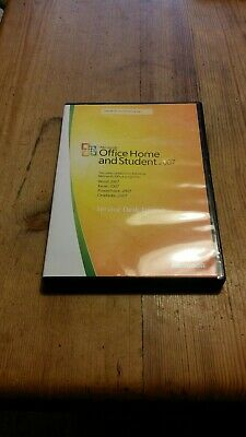 Genuine Microsoft Office Home And Student 2007 + Product Key