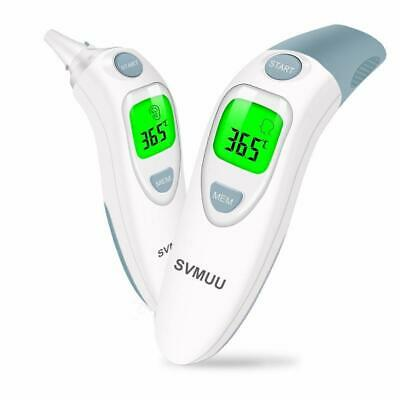 Baby Thermometer Ear Digital LCD Fever Forehead Probe Covers Infrared Adult Safe