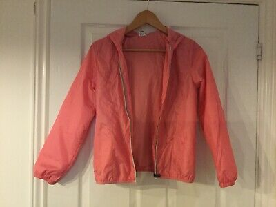 girls pink light jacket aged 11 from next