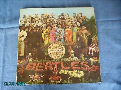 Sgt. PEPPERS LONELY HEART CLUB BAND. BEATLES ORIGIANL VINYL LP (MONO)