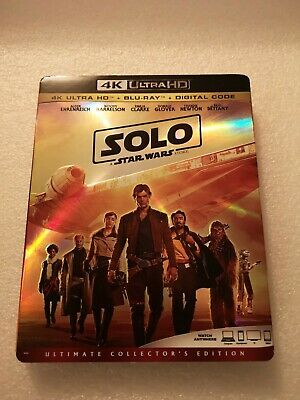 Solo: A Star Wars Story (4K Blu-ray), Slipcover Only