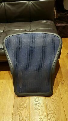 Blue Herman Miller Aeron Chair Size B Back Frame & Mesh