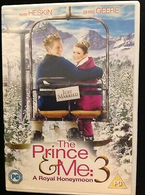 The Prince and Me 3 - A Royal Honeymoon DVD (2008) Kam Heskin, Cyran (DIR) cert