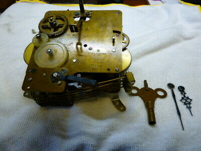 ANTIQUE  WESTMINSTER CHIME CLOCK MOVEMENT AND CHIME BAR by CUCKOO CLOCK  Mfg.