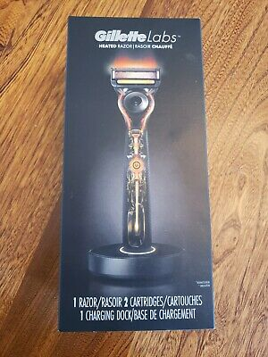 NEW SEALED Gillette Labs Heated Razor