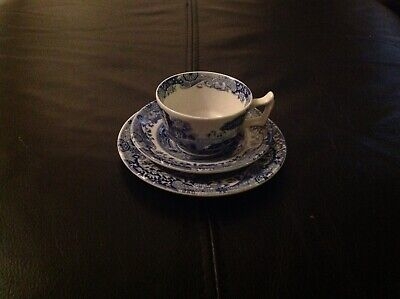 Spode Italian Tableware Small Cup and two Saucer's Excellent Condition