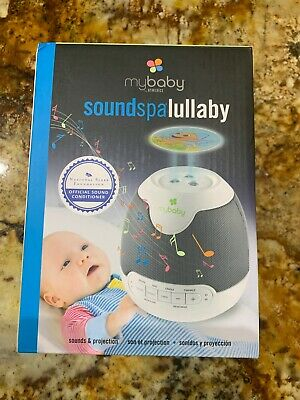 Baby SoundSpa Lullaby, Sound Play Image Projector Auto-Off Timer for Naptime