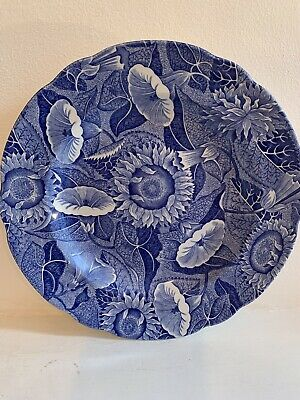 """The Spode Blue Room Collection ~ Sunflower ~ Side/Salad Plate - 7.75"""""""
