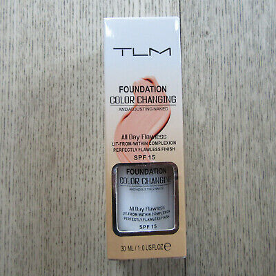 TLM - Foundation -Color Changing & Adjusting Naked All Day Flawless -SPF15 -30ML