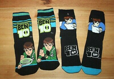 BNWOT pack of 2 Ben 10 grip socks size 12.5 - 3.5