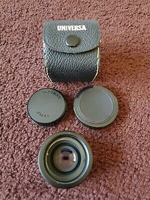 TAKUMAR-A 2X tele-converter Lens for PENTAX K MOUNT CAMERA With Covers and Case