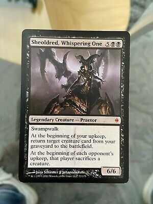 ~ Magic MTG Sheoldred Whispering One ~ Iconic Masters ~ NearMint//Excellent