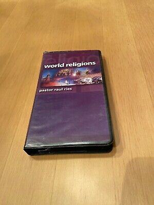 World Religions By Pastor Raul Ries *Four Cassette Tapes*