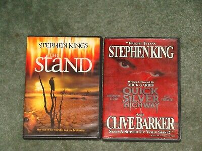 Stephen King's The Stand Dvd & Quick Silver Highway Clive Barker Mick Garris Oop