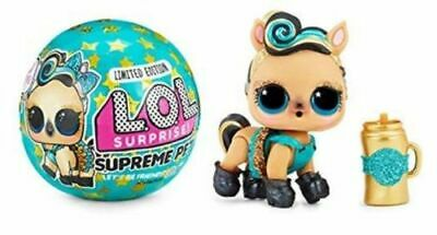 L.O.L. Surprise Supreme Pet LOL Limited Edition Series Lucky Luxe Pony Doll Ball