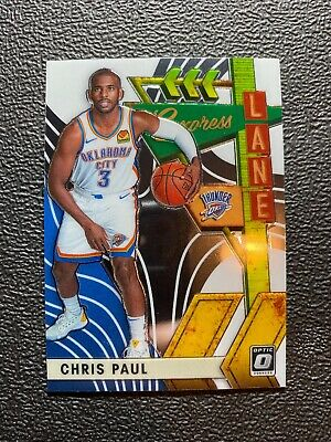 2019-20 Panini NBA Optic Express Lane Insert 15 Chris Paul Thunder