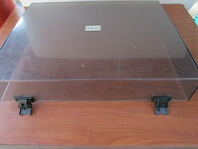 Vintage Marantz Model 6110 Turntable  Dust Cover With Hinges